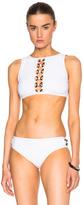 Karla Colletto Rings Crop Bikini Top