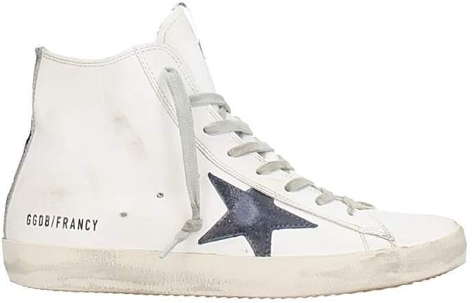 Golden Goose Francy White Leather Sneaker