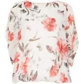 Dorothy Perkins Womens *Voulez Vous Pink Cold Shoulder Top