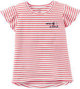 Carter's Short Sleeve Round Neck T-Shirt-Toddler Girls
