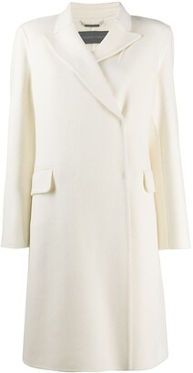 Alberta Ferretti Double-Breasted Midi Coat