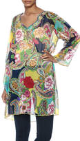 Indian Tropical Colorful Cover Up Kaftan