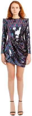 Alex Perry Iris Sequin Mini Dress