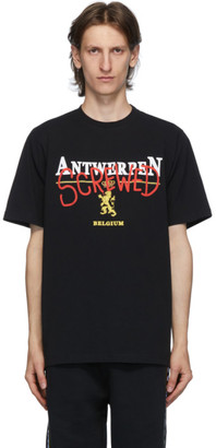Vetements Black Antwerpen Screwed T-Shirt