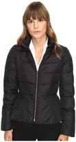 Kate Spade Peplum Puffer Jacket