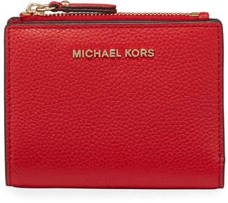 MICHAEL Michael Kors Jet Set Medium Leather Snap Billfold Wallet