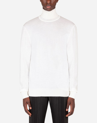 Dolce & Gabbana Wool Turtle-Neck Sweater
