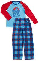 Petit Lem 2-Piece Bulldog Pajama Set