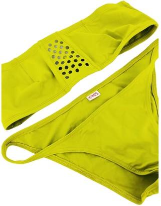 Eres Yellow Cotton Swimwear