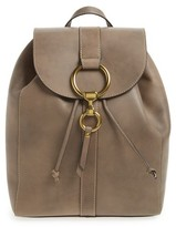 Frye Ilana Harness Leather Backpack - Grey