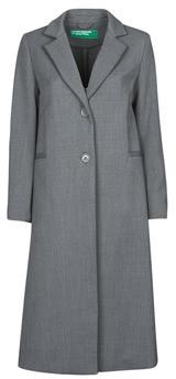Benetton women's Coat in Grey