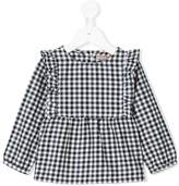 Emile et Ida gingham pattern dress