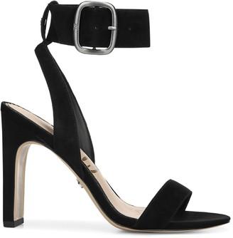 Sam Edelman Yola Suede Ankle-Strap Sandals