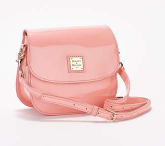 Dooney & Bourke Patent Leather Saddle Crossbody
