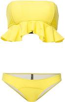 Lisa Marie Fernandez Natalie Flounce bikini set - women - Nylon/Spandex/Elastane - I
