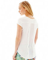Nanette Lepore L AMOUR BY L'Amour V-Neck Tee