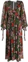 Ainea v-neck floral dress