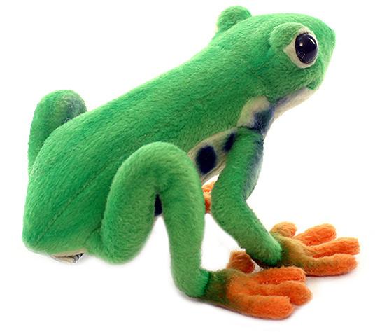 Red-Eyed Tree Frog Plush Toy