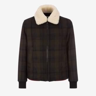 Bally Mens Wool Bomber Jacket