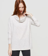 Lou & Grey Zen Bounce Cowlneck Top