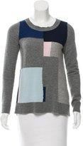 Diane von Furstenberg Zandra Cashmere Patchwork Sweater