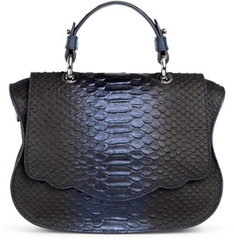 Thale Blanc, Llc. Audrey Couture Crossbody In Midnight Blue