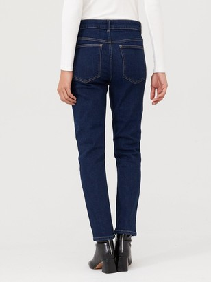 Wallis Straight Leg Jean - Indigo