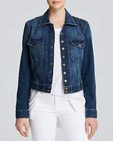 Current/Elliott Jacket - The Snap Jacket in Loved Wash