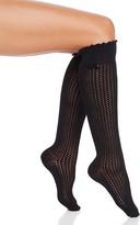 Hue Openwork Knee Socks