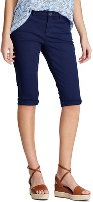 Chaps Women's Cuffed Bermuda Shorts