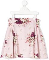 MonnaLisa floral print skirt - kids - Polyester/Spandex/Elastane - 2 yrs