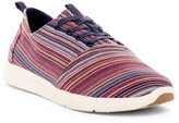 Toms Viaje Stripe Woven Denim Sneaker