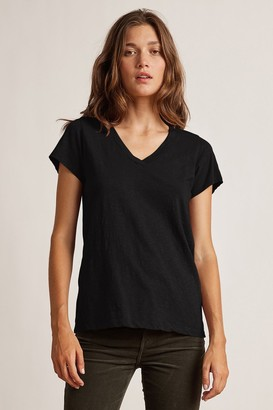 Velvet by Graham & Spencer Jilian Original Slub V-Neck Tee