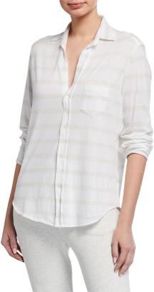 Frank And Eileen Melange Striped Button-Down Shirt