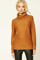 Forever 21 FOREVER 21+ Boxy Turtleneck Sweater