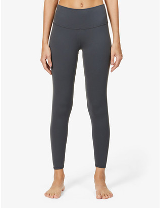 Alo Yoga 7/8 Airbrush high-rise stretch-jersey leggings