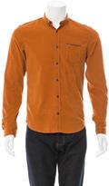 Burberry Corduroy Button-Up Shirt
