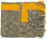 Isabel Marant Izia fringed scarf - women - Polyamide/Mohair/Wool - One Size