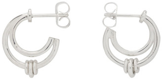 Martyre Silver Small Soma Hoop Earrings