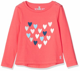 Joules Girl's Ava Long Sleeve Top