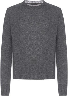 Prada Crewneck Knitted Sweater