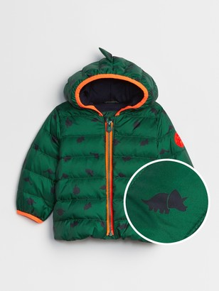 Gap Baby ColdControl Ultra Max Down Dino Puffer