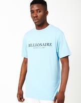 Billionaire Boys Club Monaco Flock Print T-Shirt Blue