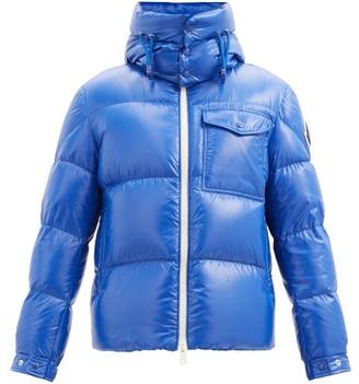 Moncler Vignemale Chest-pocket Quilted Down Jacket - Blue