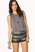 Forever 21 Glam Beaded Shorts