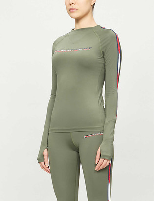 Tommy Sport Base layer long-sleeved T-shirt