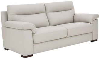 Violino Spire Real Leather/Faux Leather 3 Seater Sofa