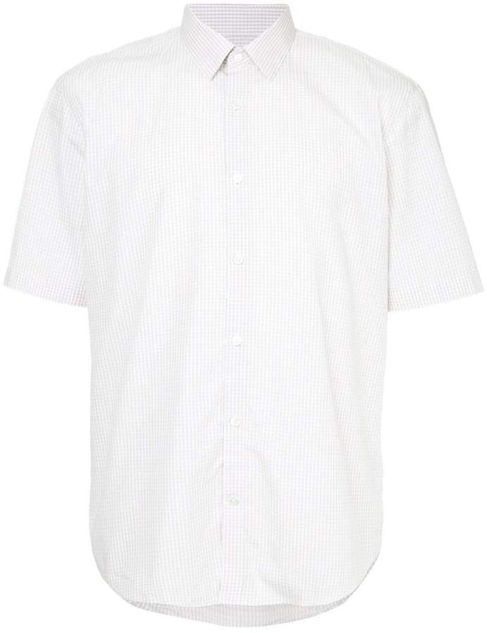 Cerruti gingham short sleeve shirt