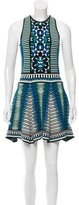 Torn By Ronny Kobo Intarsia Mini Dress