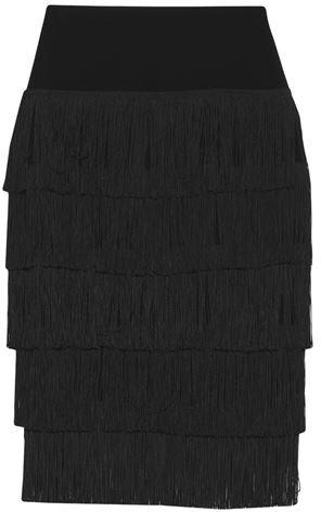 Thumbnail for your product : Norma Kamali 3/4 length skirt